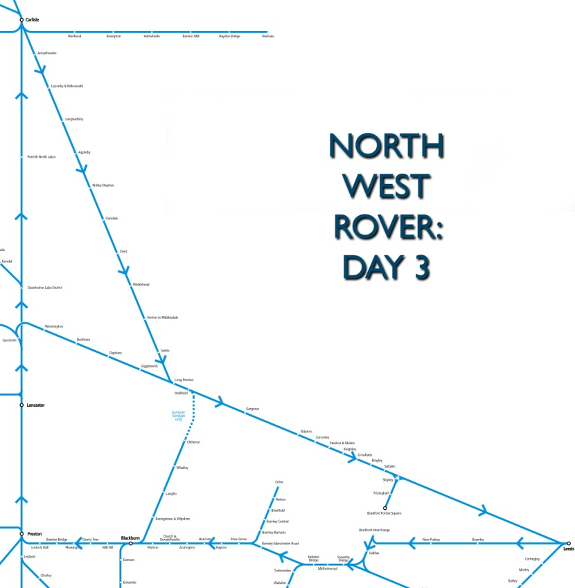 North West Rover: day 3