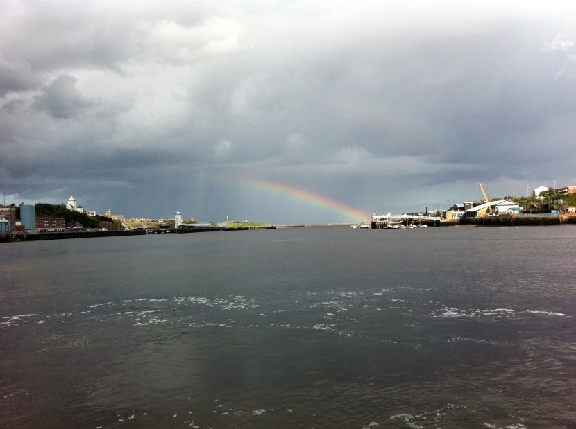 Rainbow over the Tyne