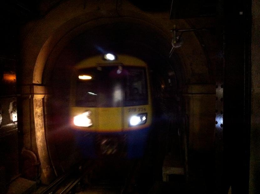 Tunnel vision, slight return