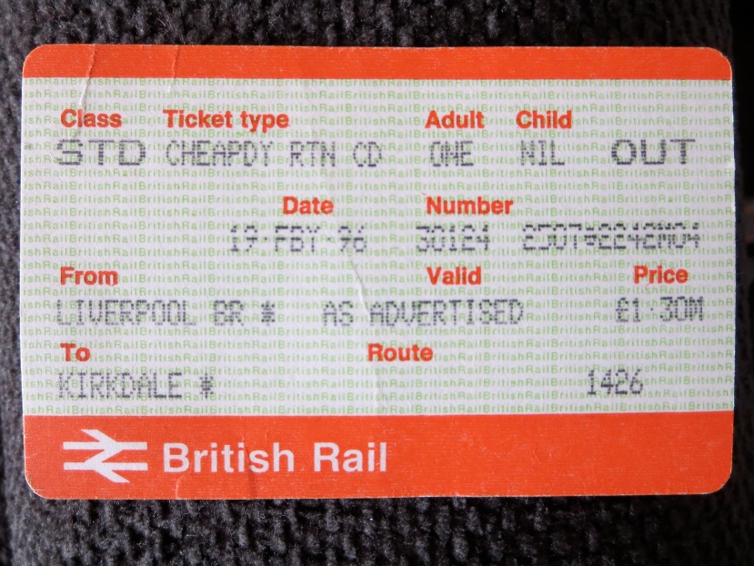 Liverpool to Kirkdale, 19 February 1996